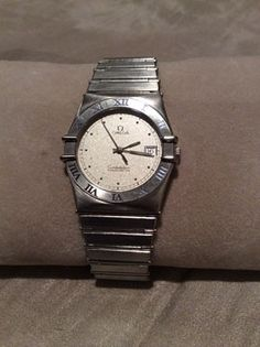 Mens Omega Constellation Chronometer Stainless Steel Dress Watch -  http://menswomenswatches.com