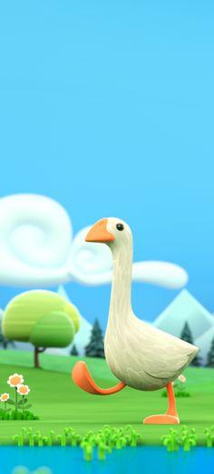 Summer – Olivier Pautot Cgi 3d, Character Art, Illustration, Bird, Outdoor Decor, Summer, Cartoons, Design, Ducks