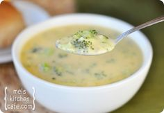 Broccoli Cheese Soup- I just made this tonight and oh my goodness it was... Ah. May. Zing.