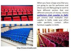 Niveeta Auditorium Chair Supplier In Delhi Get Cinema Multiplex Make