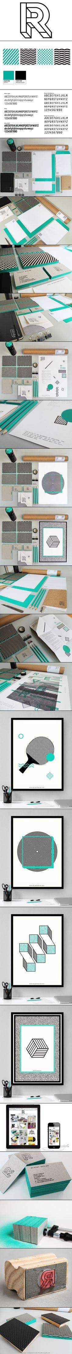 revert resign | branding | identity | art direction | typography | pattern