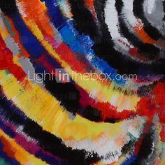 Pintada a mano AnimalModern Un Panel Lienzos Pintura al óleo pintada a colgar For Decoración hogareña 2017 - $66.21