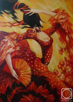 Панина Кира. Красный танец