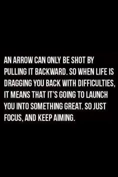 Just focus & keep aimining