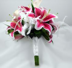Stargazers & Callas Bridal Bouquet
