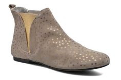 Ippon Vintage Patch gold Ankle boots