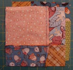 Learn how to make the disappearing 9 patch with a little extra fun twist.