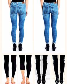 A fix for bowed legs, bandy legs, skinny legs or O-shaped legs. Legi is a patented cosmetic support to correct the appearance of bow legs under tight pants, skinny jeans & activewear. Boots And Leggings, Tights Outfit, Bow Legged Correction, Muscular Legs, Summer Outfits, Cute Outfits, Themed Outfits, Drawing Clothes, Best Jeans