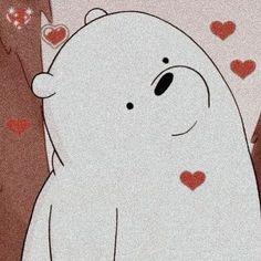 Cute Panda Wallpaper, Cartoon Wallpaper Iphone, Bear Wallpaper, Cute Disney Wallpaper, We Bare Bears Wallpapers, Panda Wallpapers, Cute Cartoon Wallpapers, Vintage Wallpapers, Ice Bear We Bare Bears