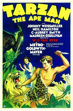 Tarzan the Ape Man (1932) - Neil Hamilton, Maureen O'Sullivan, C. Aubrey Smith