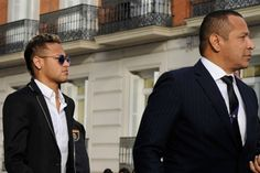 Barcelona and Brazil striker Neymar is facing accusations of tax evasion and forgery in his homeland, with Sandro Rosell and Josep Bartomeu also accused. Neymar Jr, Messi, Sports News, Superstar, Barcelona, Father, This Or That Questions, Neymar Brazil, Saints