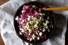 Date, Feta and Red Cabbage Salad // smitten kitchen