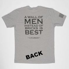 A Wall Of Men | Heather Gray/Black