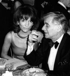 Lee Radziwell and Leonard Bernstein attend Richard Rogers Awards Dinner on March 1974 at the Pierre Hotel in New York City. Lee Radziwill, Pierre Hotel, Caroline Lee, Leonard Bernstein, Cecil Beaton, Sister In Law, Princess Caroline, Jackie Kennedy, High Society