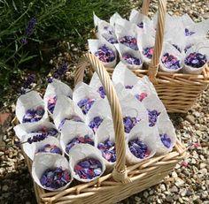 Real Flower Petal Confetti - basket £50.50 each