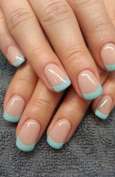 20 Cute Summer Nail Designs for 2020 - The Trend Spotter French Tip Nail Designs, Cute Summer Nail Designs, Toe Nail Designs, Nails Design, Summer French Nails, Cute Summer Nails, French Tip Nails, Nail French, French Tips