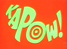 KAPOW! - Batman sound effect graphics