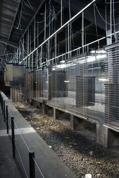 Artist: Haegue Yang  Venue: Hauptbahnhof, Documenta 13, Kassel