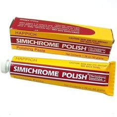 - Used by professionals for years, Simichrome does a beautiful job of removing surface rust from chrome, polishing aluminum until it looks like new, even sprucing up delicate, heirloom family silver without leaving scratches or abrasive marks - It's unique, finely mixed formula produces a rich, brilliant shine on any uncoated, non-ferrous, metal surface including, brass, gold, silver, aluminum, magnesium, pewter, chrome, sterling, copper and stainless steel - In as little as 30 seconds, you can  Shops, The Right Stuff, Thing 1, Tube, Chrome, Ebay, Brass, Copper, Polishing Aluminum