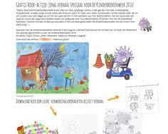 Download gratis het Wiebel & Kriebel verhaal, speciaal geschreven voor de Kinderboekenweek 2016 met als titel 'voor-altijd-jong!' + werkbladen en ander gratis lesmateriaal!