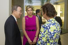 Koningin Máxima ontvangst president van Myanmar | ModekoninginMaxima.nl