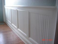 dining room wainscot | Found on housediycraftpins.com
