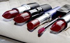 5 Red Lip Colours for Fall/Winter