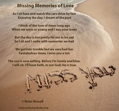 i miss u poems for him