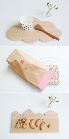 from eat drink chic. love the cloud cutting board!