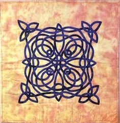 Fast Friday Fabric Challenge: Celtic Knot