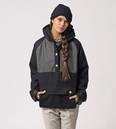 """Friday 5: Wish List    """"I want to stay cozy in this Pullover Parka from my friends at Muttonhead Collective.  This Toronto based company is sweatshop free, unisex, high quality and timeless.  The girls who run it are also lovely and down to earth.""""    Thanks Gil!"""