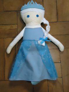 Elsa Forzen- Rag Doll/Boneca de Pano