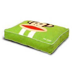 Paul Frank Racing Stripe Bed - King Size Pet Bed for Cats and Dogs #fortailsonly Stacie Marshman, Founding Independent Handler, Microchip #FH100 www.fb.com/paradisepetboutique