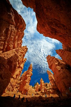 Hole into the Sky - Bryce Canyon National Park - Utah - USA