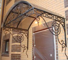 Porches, House Canopy, House Outside Design, Window Grill Design, Wrought Iron, Shed, Stairs, Exterior, Home Decor