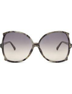 a5dc0fafd703 LINDA FARROW Lfl514 oversized sunglasses