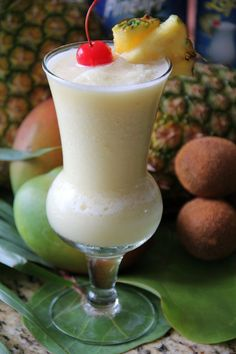 A frothy mix of creamy coconut milk, pineapple and rum, the Piña Colada was invented at Carbe Hilton Puerto Rico. Image: Hilton