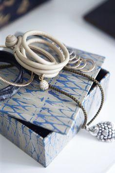 Wonderful jewelry from Ole Lyngaard Copenhagen. Photo: Birgitta Drejer, found on trendenser.se