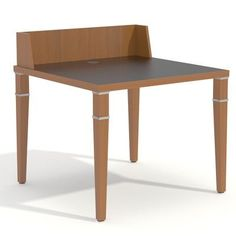 Palmieri Element Workstation Accent Finish: Navy, Frame Finish: English Oak, Top Finish: Bannister Oak