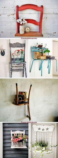 ¿Qué hacer con tus sillas viejas? aquí tienes la solución