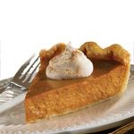 Classic Pumpkin Pie with Cinnamon & Spice Whipped Cream