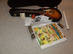 GIBSON ERIC CLAPTON 1960 BEANO BURST LES PAUL #001 EVERYTHING MINT NEW OLD STOCK