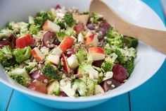 A quick and simple chop salad bursting with flavor and texture.