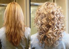 Haircut for both to wear hair curly and straight