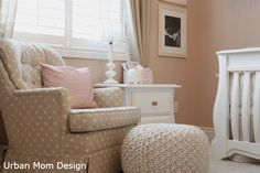 """soft, feminine and not """"themed"""" - Project Nursery"""