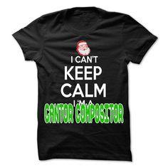 awesome Keep Calm Cantor Compositor... Christmas Time ... - 0399 Cool Job Shirt ! - Discount