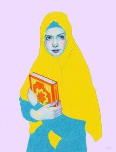Illustrations for Fett magazine - Natalie Foss