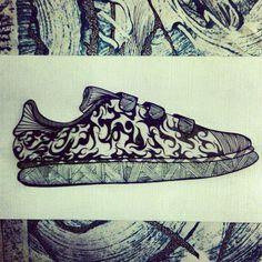 #Sneaker #custom #designed by Artieneznl
