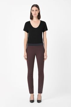 COS   Contrast waist trousers