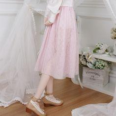 구체관절인형 & 돌피드림 쇼핑몰 - 돌스앤 (cdd-087 (핑크)) Tulle, Angel, Skirts, Pink, Clothes, Fashion, Fashion Dresses, Outfits, Moda